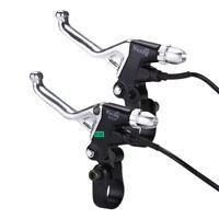 Alloy Switched Side Kabel Bremshebel Set Griff Ersatz für Elektro-Fahrrad E-Bike