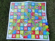 12 Funny Snakes and Ladders Board Toy for Kids 38x38cm