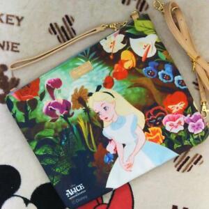 Disney Alice in Wonderland × Samantha Thavasa Shoulder Bag Young Oyster Purse