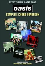 Oasis Complete Chord Songbook Guitar Sheet Music 2009 Best Of Greatest Hits NEW
