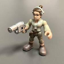 """2.5"""" LADY Rey Playskool Star Wars Galactic Heroes Movies Figure Toy Kid Gift"""