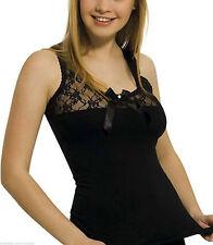 Ärmellose Damenblusen,-Tops & -Shirts mit Baumwollmischung und Stretch ohne Mehrstückpackung