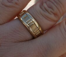 Tiffany & Co 18k Yellow gold band 7mm 8.2g