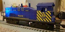 Lionel O O27 SW1 No. 8010 Santa Fe switcher, runs great, no OB