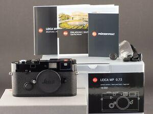 Leica MP 0.72 10302 Black Paint analog 2020 -NEU- FOTO-GÖRLITZ Ankauf+Verkauf