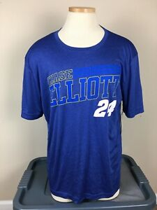NASCAR Fanatics Blue Chase Elliott #24 T Shirt Men's Size XL  NWT