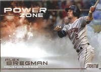 2019 Topps Stadium Club Power Zone #PZ-14 Alex Bregman Houston Astros Baseball