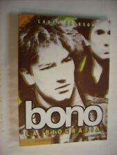 BONO (U2) - LA BIOGRAFIA - LIBRO 208 PGS ITALIANO - ARCANA 2002