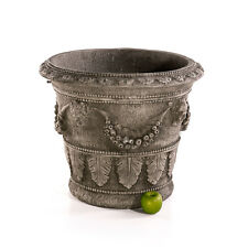 Übertopf Sandstein Pflanzgefäss Blumentopf Stein Vase Kübel Skulptur 622870