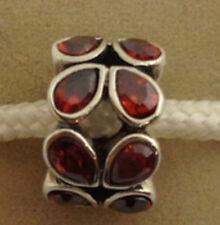 Authentisch Chamilia Limitierte Auflage Twinkle Rot Cz Perle Anhänger, 2025-0640