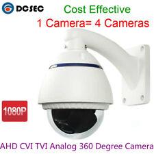 2MP 1080P AHD CVI TVI Outdoor Water-proof IP66 360 degree Fisheye Dome Camera