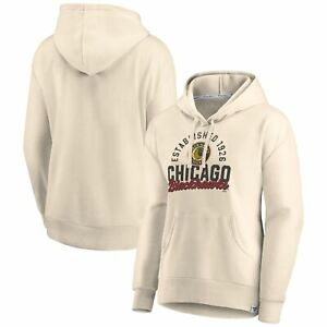 Chicago Blackhawks Fanatics Branded Women's Carry the Puck Pullover Hoodie