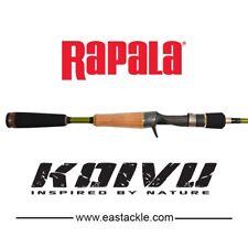 New Rapala KOIVU Cast Rod KVC652M /  6'5 2 Piece / 8 - 14LB / Baitcasting Rod