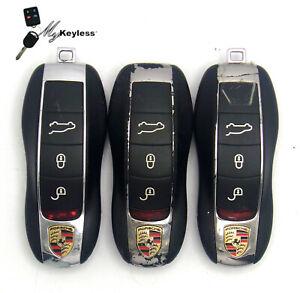 Lot x3 OEM Porsche Keyless Entry Smartkey Remote BULK Used Locksmith-KR55WK50138