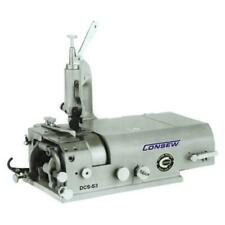 New Consew Dcs-S4 Skiver Industrial Machine Comp. w/ K/D Servo Stand Skiving New