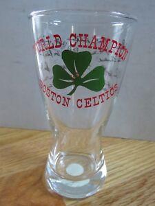 """Ruppert Knickerbocker 1965-66 BOSTON CELTICS Championship 6"""" Glass BILL RUSSELL"""