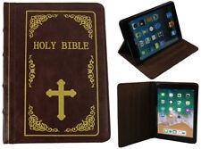 IPad Mini 1 2 3 HOLY BIBLE ANTIQUE Classique Livre Style Vintage Smart Case Cover
