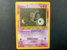 Pokemon Neo Destiny Common Card #89/105 Unown V