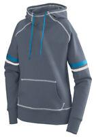 Augusta Sportswear Women's Contrast Stripes Fleece Winter Pullover Hoodie. 5440