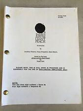 James and the Giant Peach - Tim Burton script