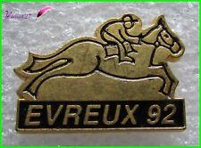 Pin's Hippodrome de Navarre Evreux 92 avec cheval Jockey Equitation  #1731