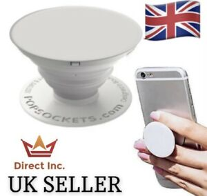 BRAND NEW PopSocket PopGrip 707025 Mobile Phone Stand - White(In Packaging)