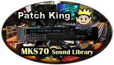 Kid Nepro Roland MKS70 Sound Library - 192 New Sound Patches Sysex Mac & Windows