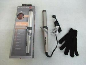 New Remington Pro 1-1/4 Curling Wand with Color Care