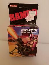 Rambo Coleco 81mm Mortar Thunder-Tube Assault Vintage 1985 New/Sealed Package