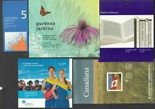 CANADA -9 MODERN MINT/NH  BOOKLETS ON TWO SCANS FACE ALONE 37.53 - SEE SCAN