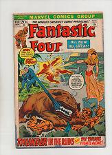 Fantastic Four #118 - Crystal & Inhumans Lockjaw Cover - (Grade 7.0) 1972