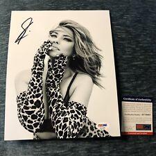 SHANIA TWAIN HAND SIGNED AUTOGRAPHED PROMO NOW TOUR 8x10 PHOTO PSA DNA COA LOA