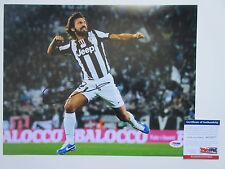ANDREA PIRLO SIGNED 11X14 PHOTO PSA/DNA COA AC51877 JUVENTUS F.C. SOCCER ITALY