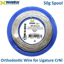 Orthodontic Stainless Steel Crni Ligature Wire Spool 30mm 012 Roll Of 100m