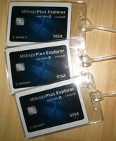 United Airlines Luggage Tags - UAL Chase Explorer Mileage Plus Credit Card (3)