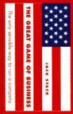 The Great Game of Business by Jack Stock (1992, Hardcover)