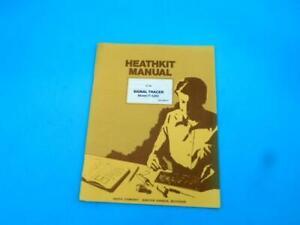 Vintage Heathkit Model IT-5283 Signal Tracer Manual Home Electronics Education