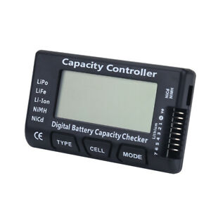 Battery Charge Digital Capacity Tester Mobile Power Head Testing for LiPo ASN