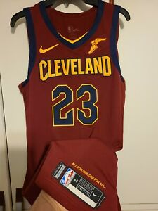 Lebron James Cleveland Cavaliers Icon Edition Nike Authentic Team Issued Jersey