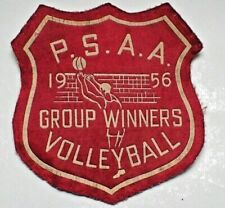 RARE Volleyball Patch - P.S.A.A. Group Winners 1956