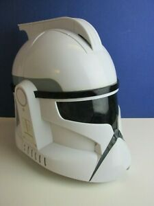 star wars CLONE TROOPER VOICE CHANGER HELMET MASK cosplay HASBRO adult kids