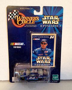 STAR WARS JEFF GORDON 1999 Episode 1 Winners Circle Monte Carlo 1:64 DieCast Car