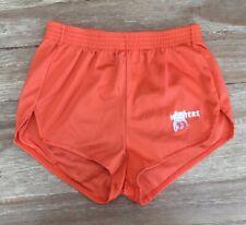 Dolfin Hooters Owl Logo Original Authentic Uniform Nylon Shorts Black M Medium