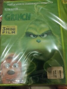 DVD Il Grinch 3 mini film originale ancora sigillato