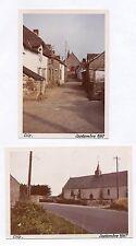 Lot 2 PHOTOS ANCIENNES COULEUR Clis Village 1967 Loire Atlantique Guérande