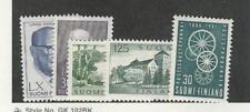 Finland, Postage Stamp, #375, 378, 380-382 Mint LH, 1960-61