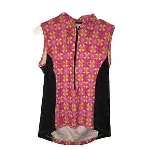 small terry cycle jersey pink cycle women's 21-2114