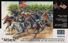 Master Box 1/35 el ataque de los 8th Pennsylvania caballería # 3550