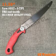 NEW Barracuda Saw 11.50'' Pruning Saws SK-5 Steel Blades Sharp PULL Garden Saw
