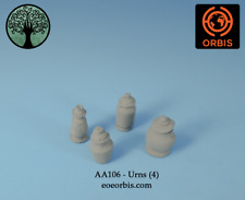 AA106 - 28mm EOE Orbis Fantasy - Urns (4) for fantasy gaming